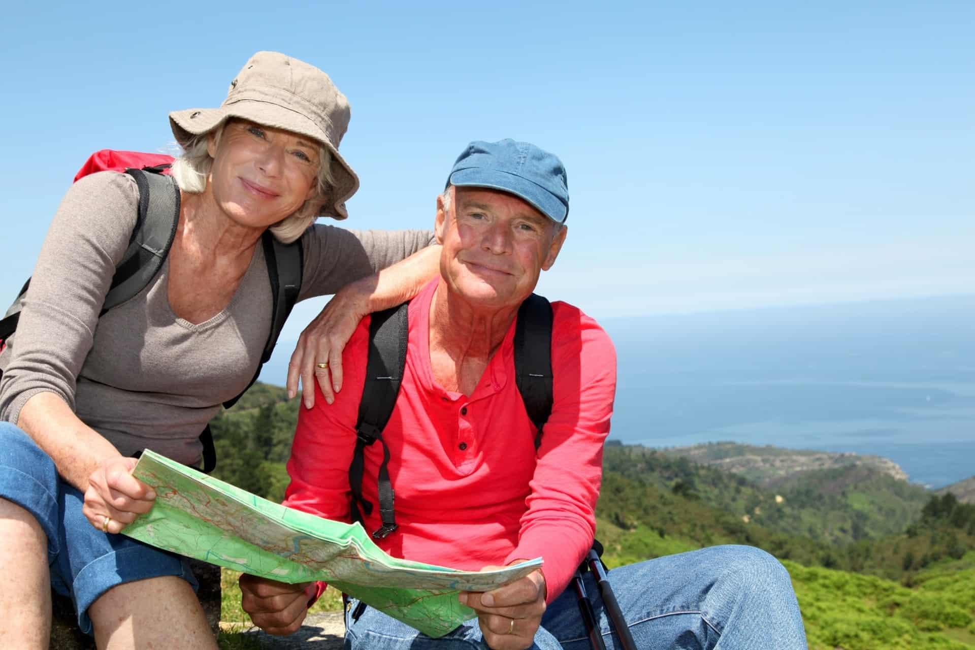 Ældre på vandring
