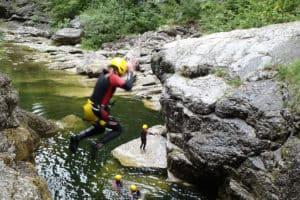 Canyoning. Aktiv Ferie i Østrig