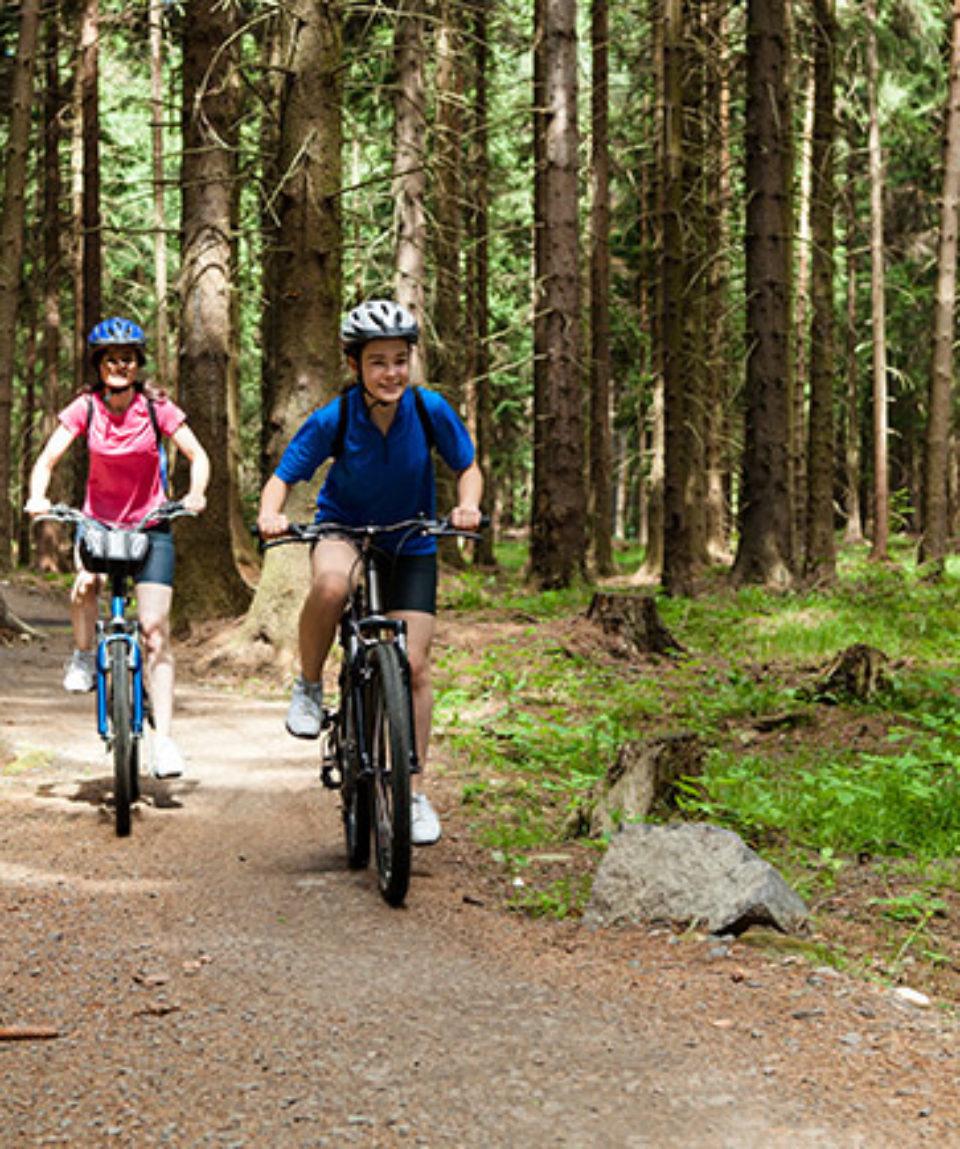 Cykel på bornholm