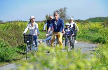 Cykelferie tour de familie