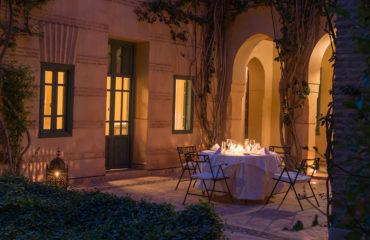 Middag i romantiske omgivelser