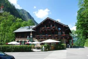 Pensionat Alpenhaus Kessefall i Østrig