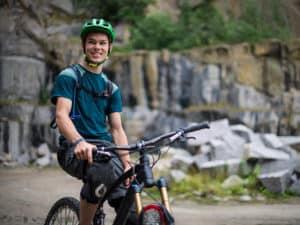 Mountainbike på Bornholm