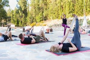 Yoga-paa Finca-Naundrup med AktivFerie.dk
