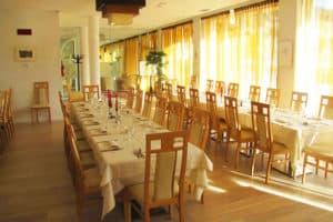 Restauranten på Alpen Hotel Eghel. Aktiv Ferie.dk