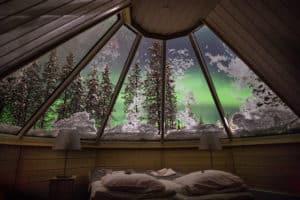 Oplev nordlyset fra din seng. AktivFerie.dk