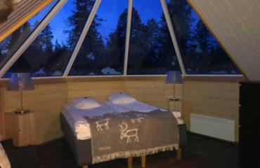 Nyd udsigten fra din varme seng
