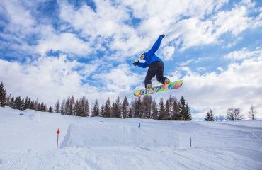 Sjov på snowboard