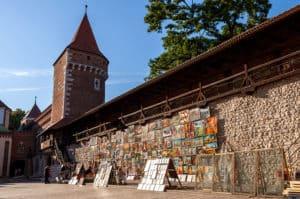 Krakow gamle bymur