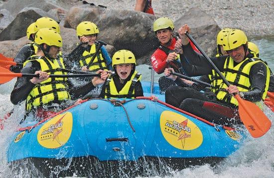 Adrenalinpumpende rafting
