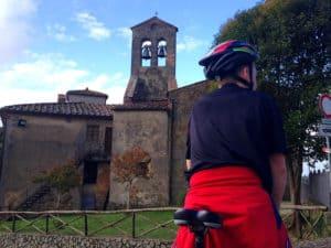 Toscana på cykel