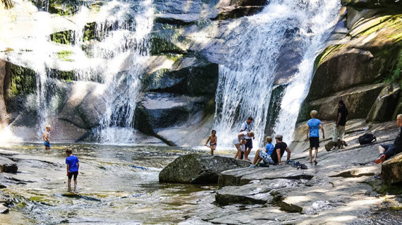 Mumlavský vandfaldet i Krokonose Nationalpark