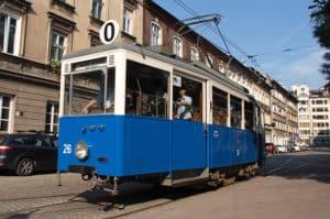 Sporvogn i Krakow