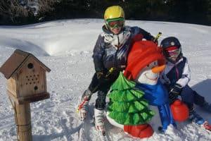 Leg i sneen. Folgaria. AktivFerie.dk