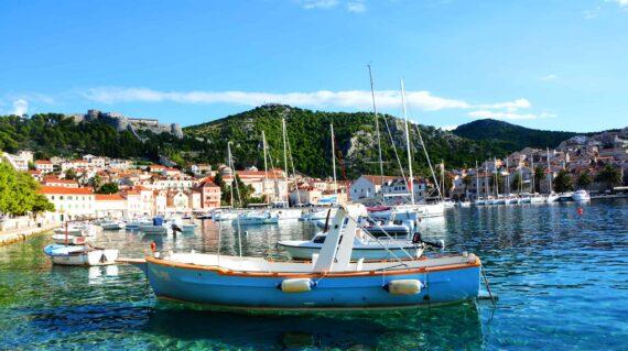 Kroatien lystbådhavn