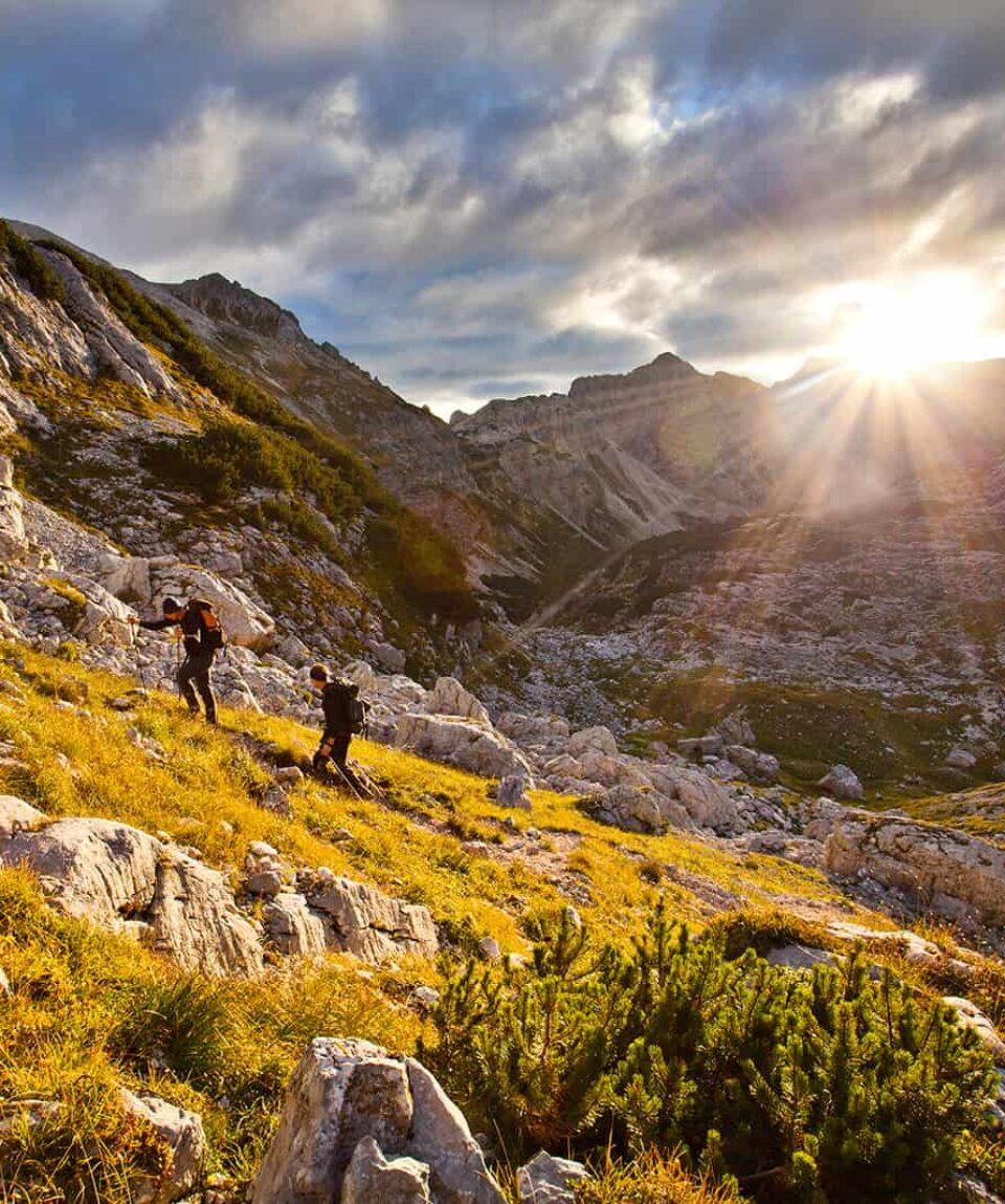 Vandreferie i De juliske Alper