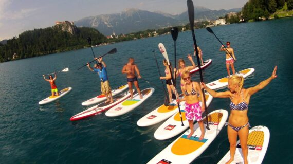 Stand Up Paddle i Slovenien